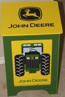 John Deere Hamper John Deere Bathroom Pinterest Chambres - John deere idees de decoration de chambre