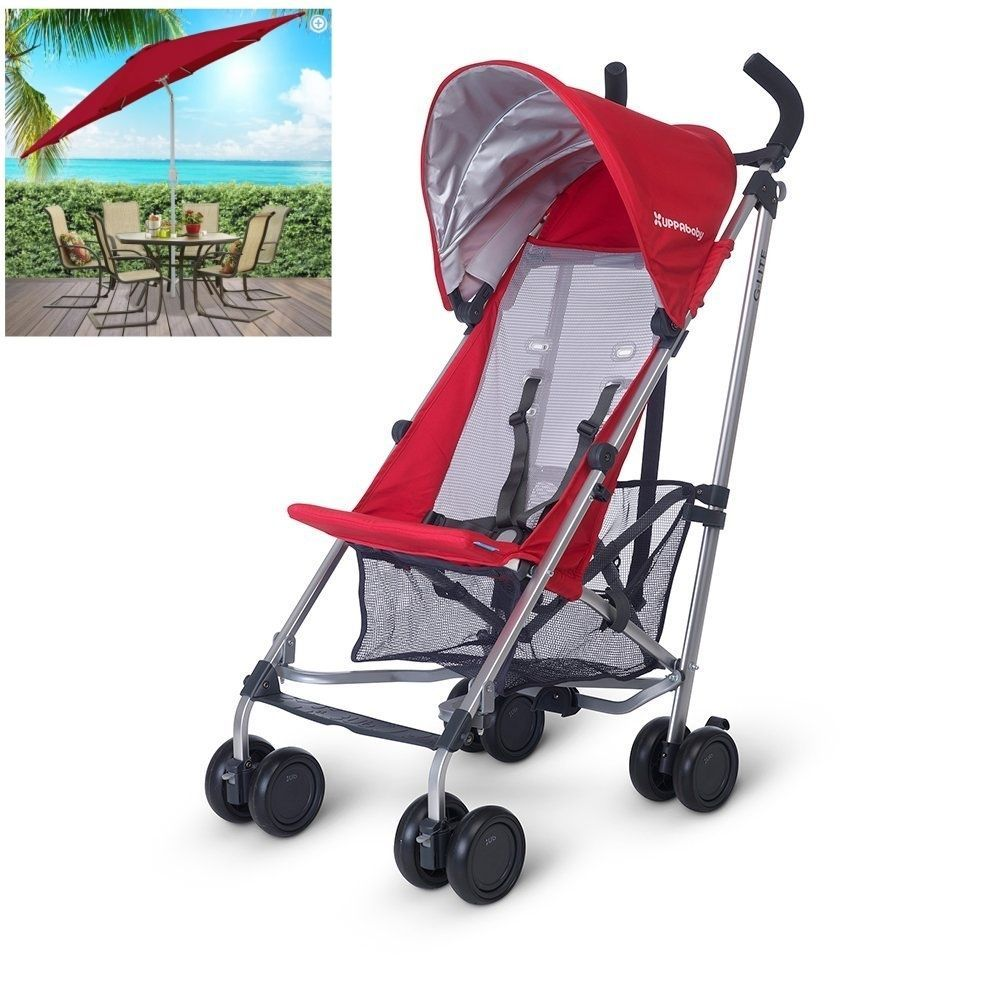 UPPAbaby G-LITE Lightweight Foldable Baby Stroller/Jogger & Sunshade Denny New  #UPPAbaby