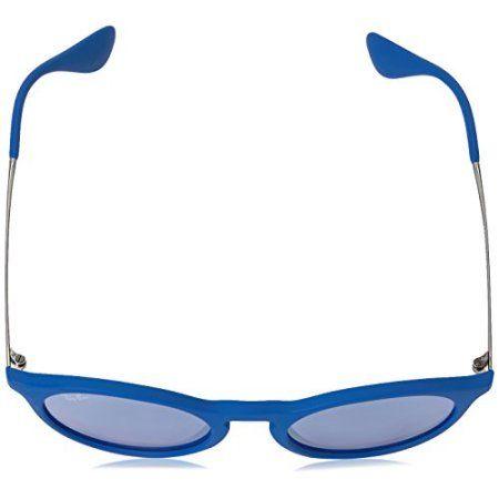 4c36adc554f Ray-Ban Blue Gunmetal Grey Lens Sunglasses