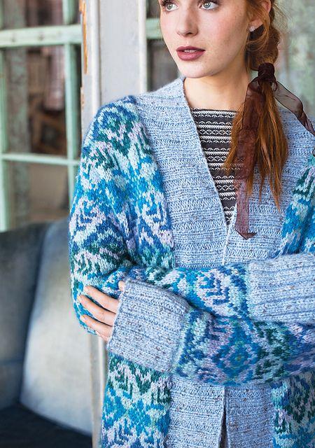 Ravelry: #06 Fair Isle Cardigan pattern by Deborah Newton | Wool ...