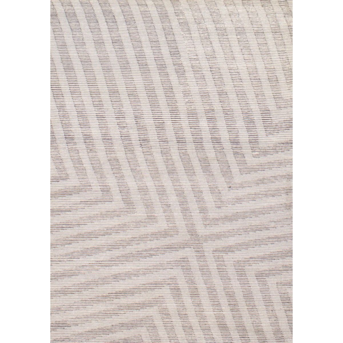 Rombauer Ivory/Grey (6' x 9') Ivory, Grey, Geometric