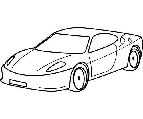 Imagenes De Carros Para Colorear Dibujos Carros 12 Coches