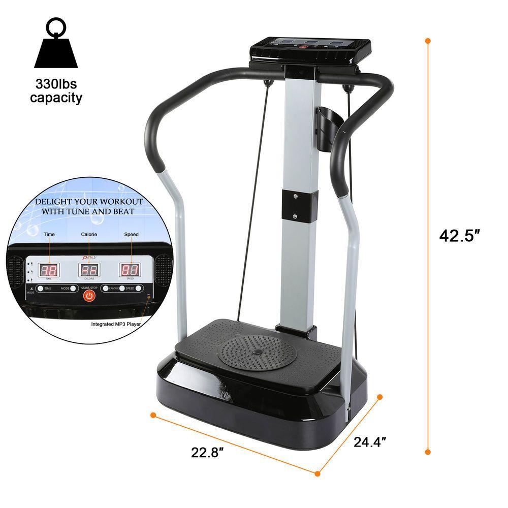 5633d2ed6c90b 2000W Vibration Machine Exercise Vibrating Platform Body Shaper Fitness  w MP3 (eBay Link)