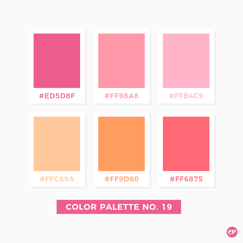 Five No Fail Palettes For: Color Palette No. 19