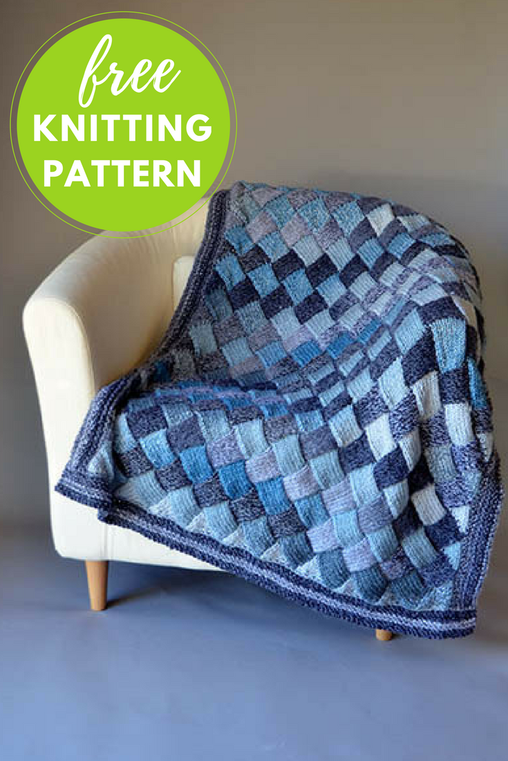 Woven Sky Blanket Free Knitting Pattern | Knitting Love | Pinterest ...