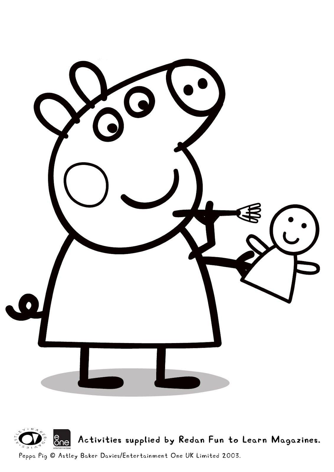 Coloring pictures peppa pig - Guarda Tutti I Disegni Da Colorare Di Peppa Pig Www Bambinievacanze Com