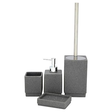 Buy Bathroom Range   Charcoal Sandstone From Our Bathroom Accessories Range  Today From George At ASDA.