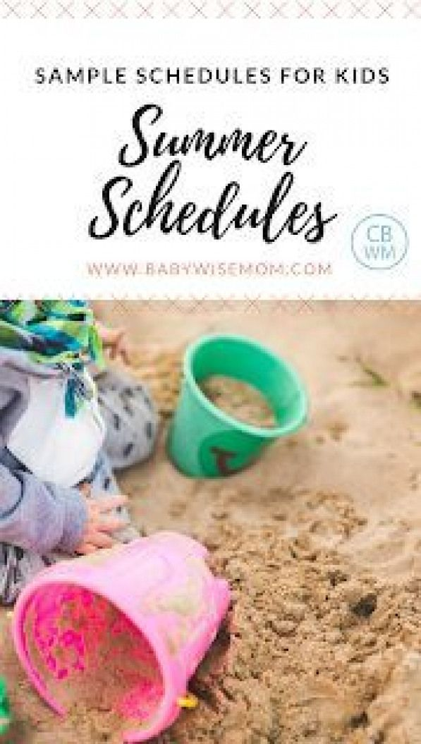 Sample Summer Schedules for Kids. How to have a routine and still have a summer. #pottytraining #potty #training #apps #summerschedule Sample Summer Schedules for Kids. How to have a routine and still have a summer. #pottytraining #potty #training #apps #summerschedule