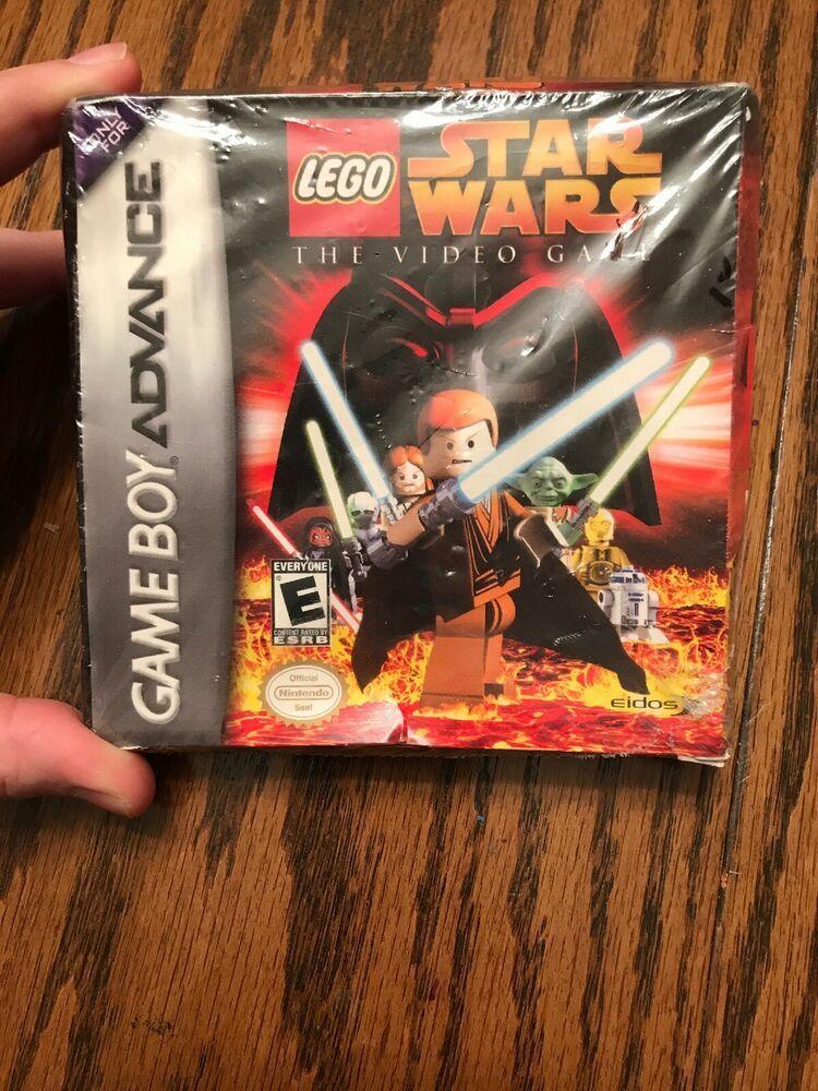 Lego Star Wars The Video Game Nintendo Game Boy Advance