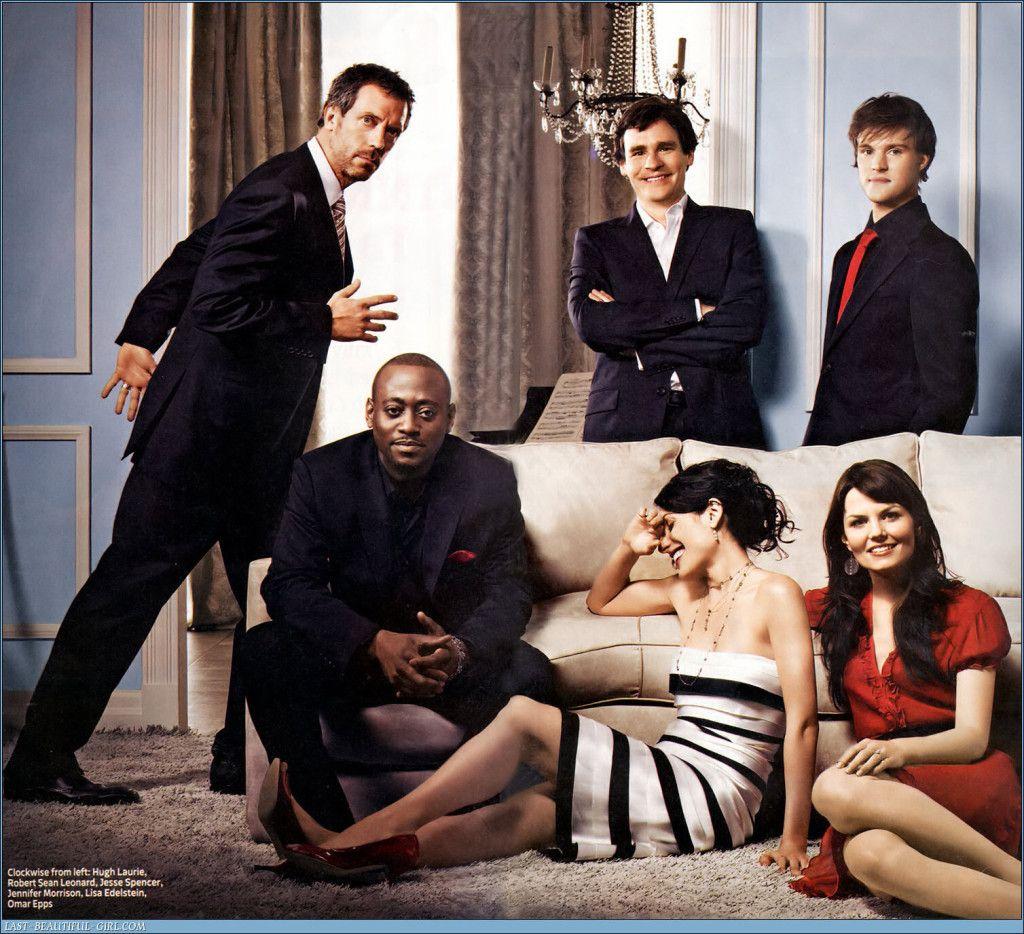 House M.D. Cast Gregory House-Hugh Laurie James Wilson-Robert Sean Leonard Lisa Cuddy-Lisa Edelstein Eric Foreman-Omar Epps Robert Chase-Jes...