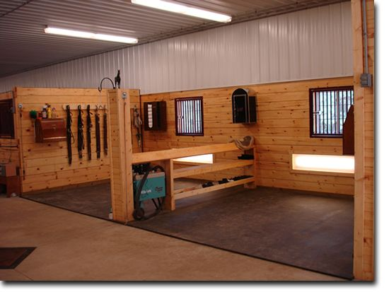 tack area for the winter