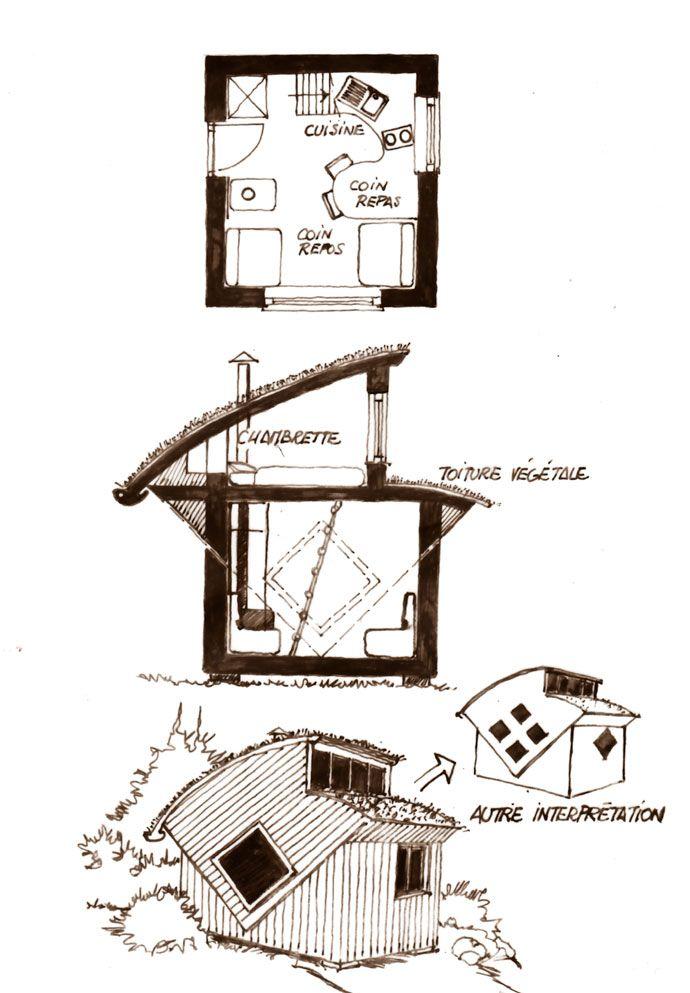 Les plans de cabanes gratuits de Christian Lagrange Part II