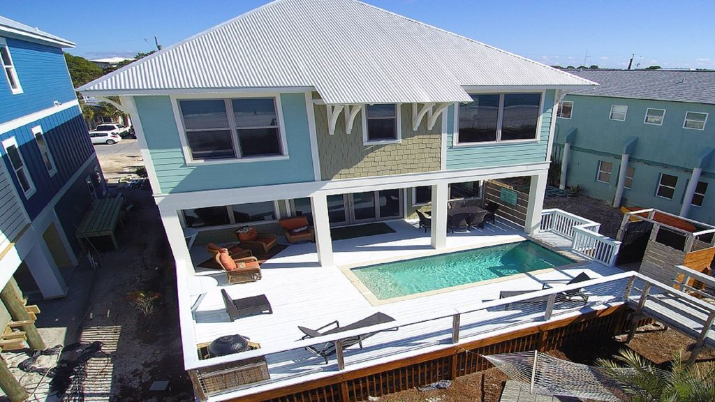 Welcome To Burnt Bottom A True Beachfront Dream Home Panama City Beach Beachfront Panama City Beach Panama City Panama