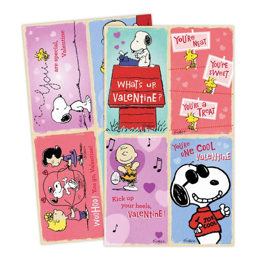 Peanuts Childrens Valentines 32 Boxed Cards – Boxed Valentines Cards