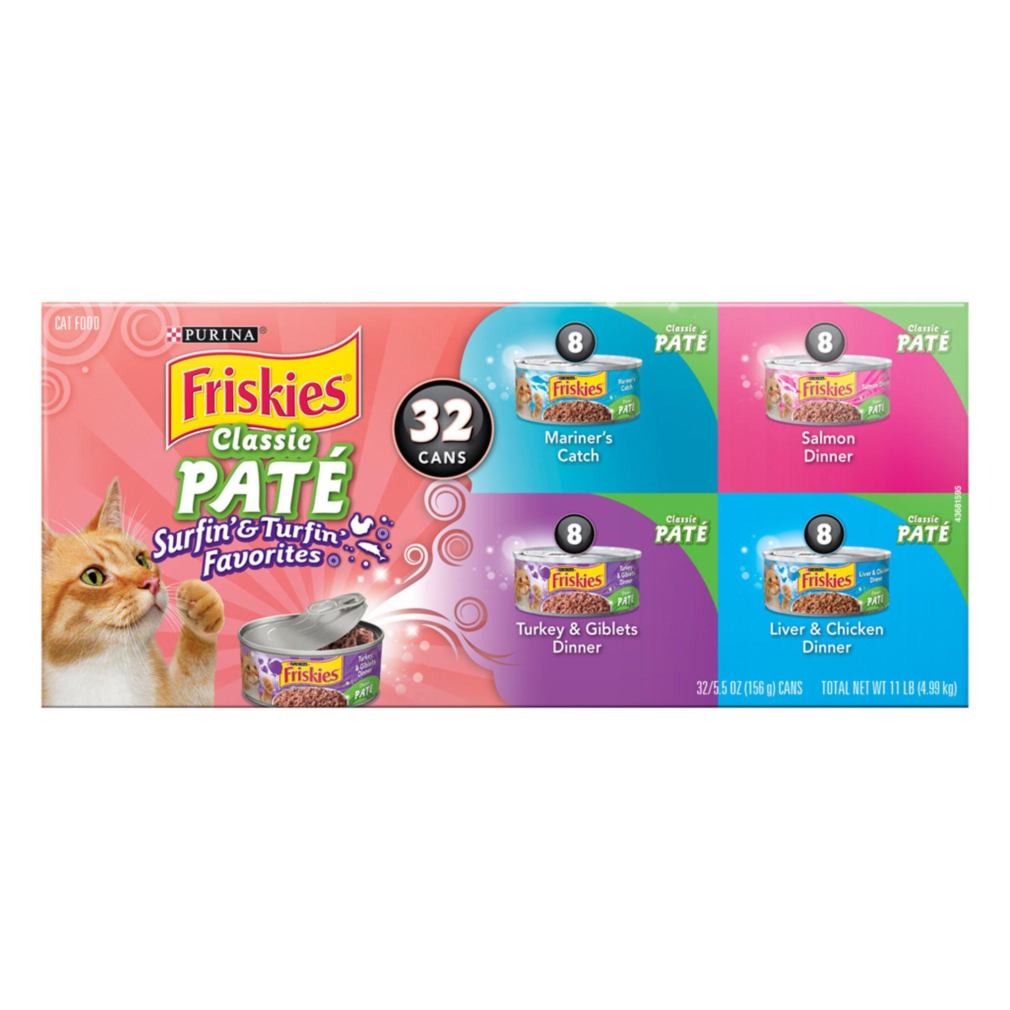 Purina® Friskies® Classic Pate Cat Food Surfin' & Turfin
