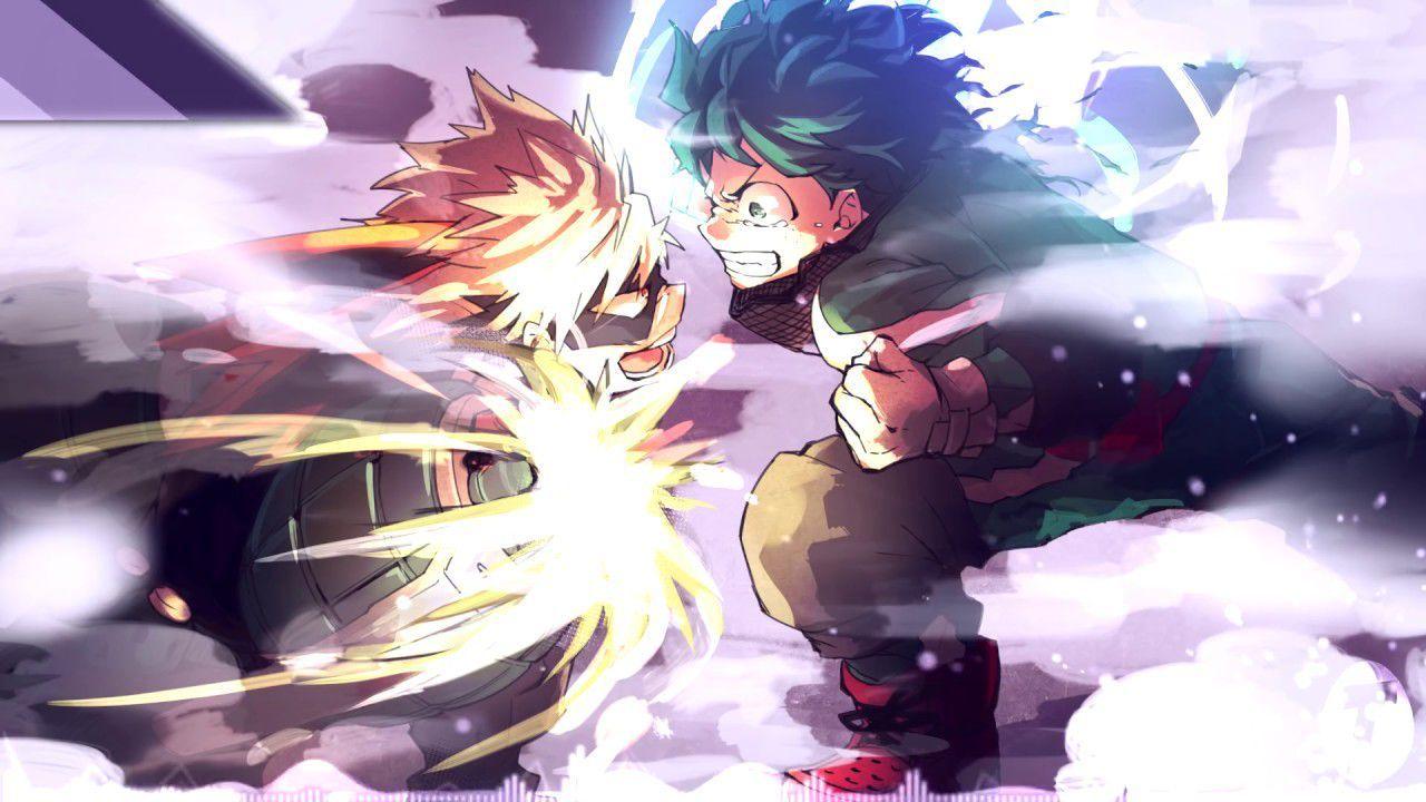 Primal Instinct Izuku Bakahoe S Beatdown Anime My Hero Hero