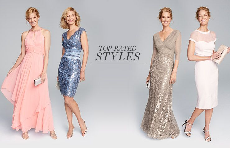 Top Rated Styles Mother Of The Bride Dresses