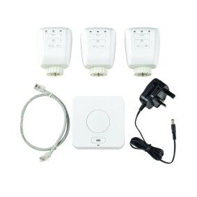 LightwaveRF Snug Starter Kit WiFi Link and 3 x Smart Radiator