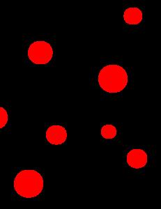 Red And Black Polka Dots Clip Art Polka Dots Wallpaper Polka Dot Background Dots Wallpaper