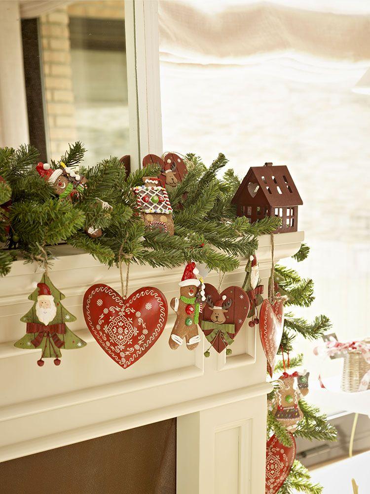 Guirnaldas y coronas 15 manualidades de Navidad para decorar