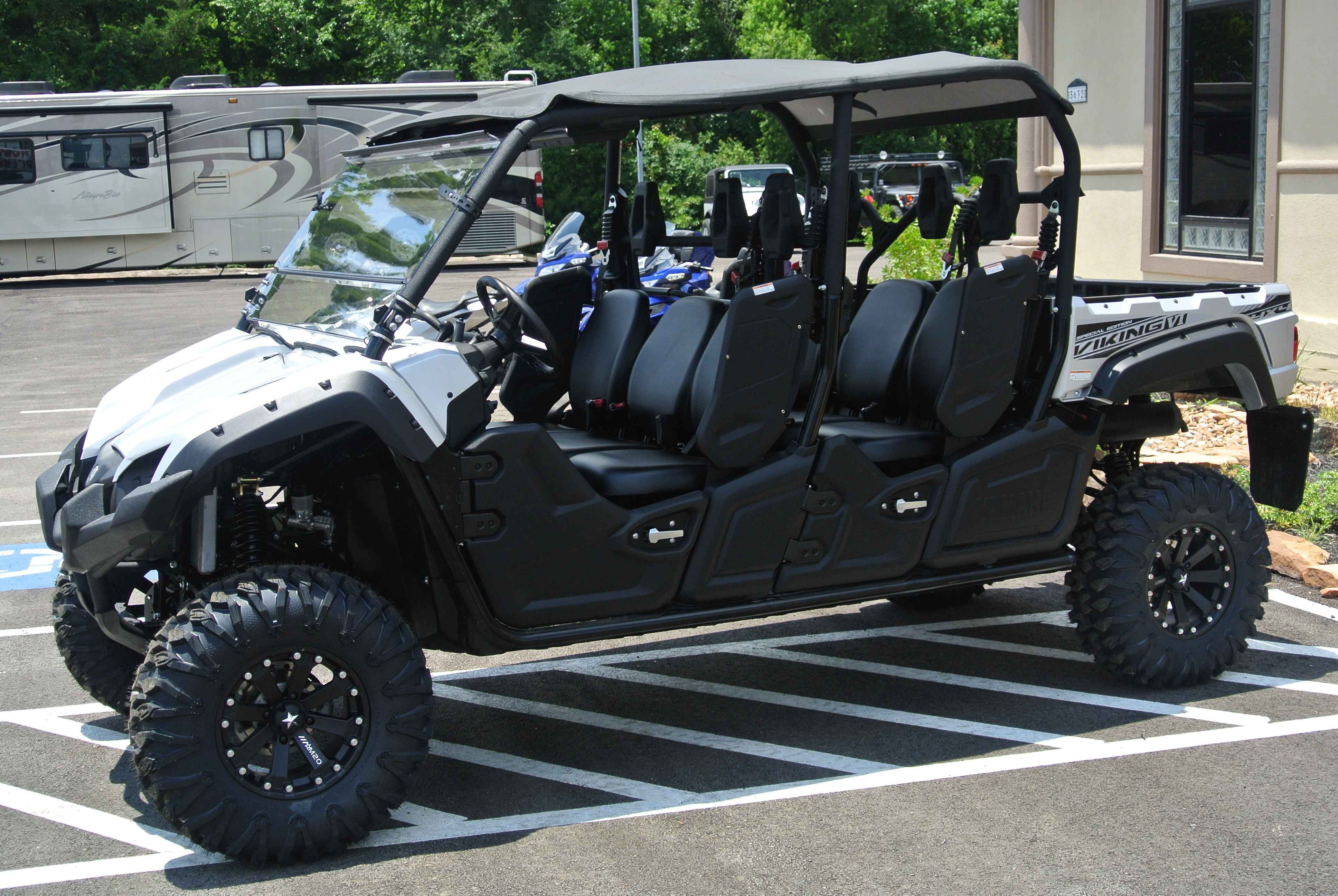 Used 2015 Yamaha Viking VI EPS SE ATVs For Sale in Texas