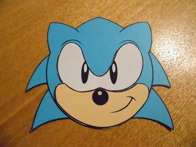 DIY Sonic The Hedgehog Invitations With Free Printable Template