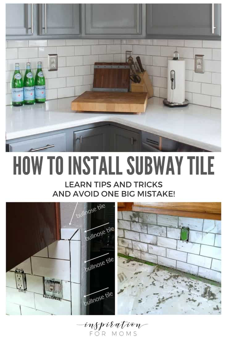 Great Tips And Tricks On How To Install Subway Kitchen Tile Kitchen Backsplash Inspiration Kitchen Tiles Backsplash Subway Tile Backsplash Kitchen