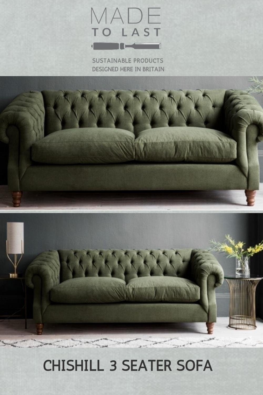 Chishill 3 Seater Sofa In 2020 3 Seater Sofa Seater Sofa Sofa