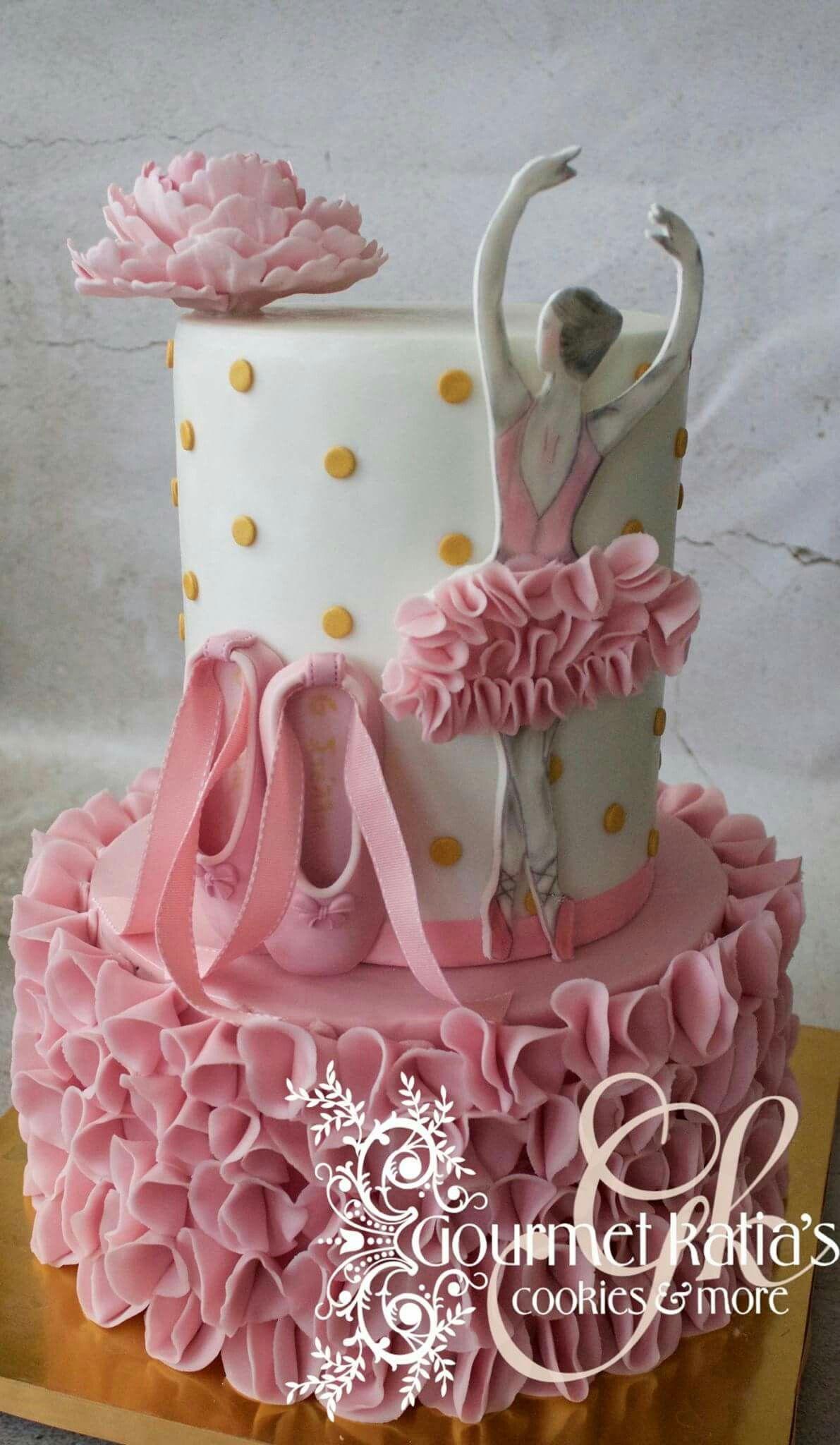 Ballet Cake  Teenietorten  Geburtstagskuchen Torten und