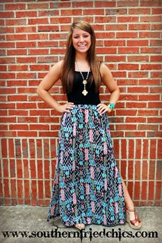 #Southern Fried Chics     #Skirt                    #Dream #Catcher #Maxi #Skirt                        Dream Catcher Maxi Skirt                            http://www.seapai.com/product.aspx?PID=767015