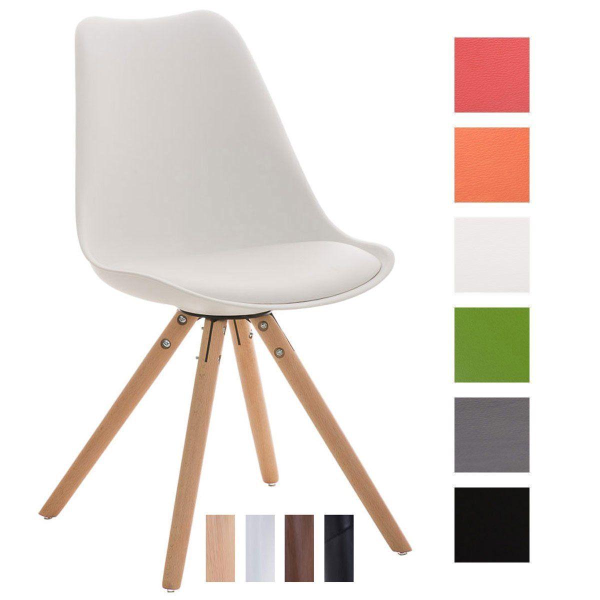 Beeindruckend Schalenstuhl Gepolstert Sammlung Von Clp Design Retro Stuhl Pegleg, Sitzhöhe 46