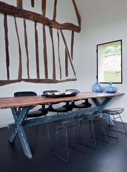 Déco bord de mer chic  chambre, maison, salon Urban rustic - Decoration Salle Salon Maison