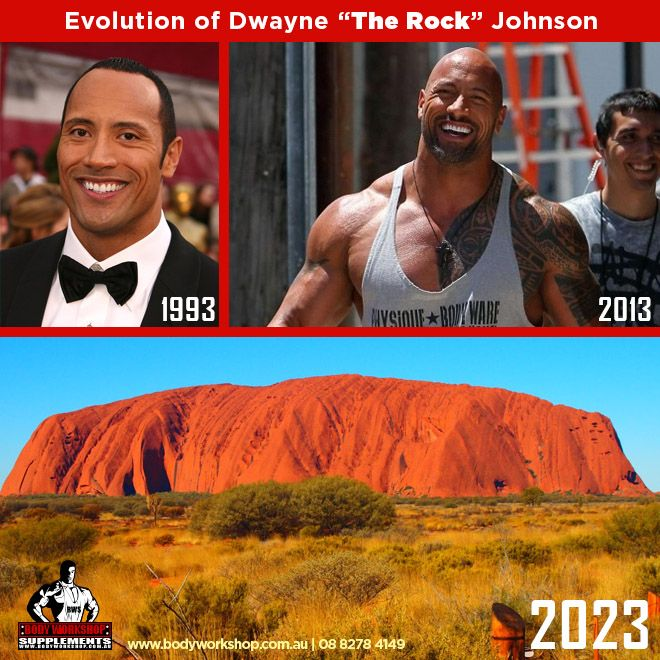 #TheRock #Evolution #meme #Uluru #AyersRock #DwayneJohnson ...