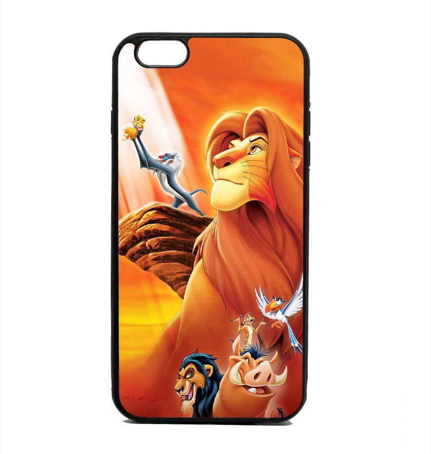 buy online fe278 e6c70 $14.9 - Phone Case Lion King Cover Samsung Galaxy S Note Edge Iphone ...