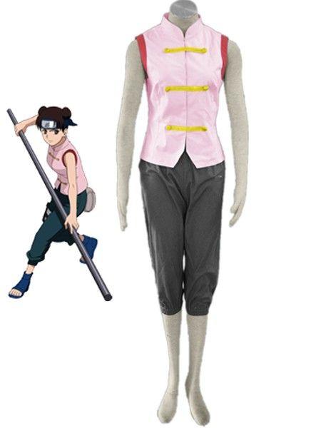 Naruto Tenten 1th Cosplay Costume