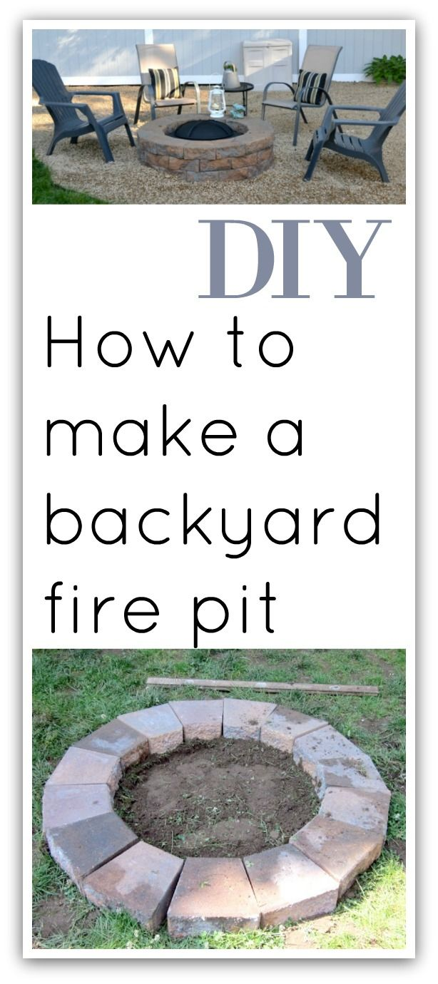 Photo of Building a Fire Pit