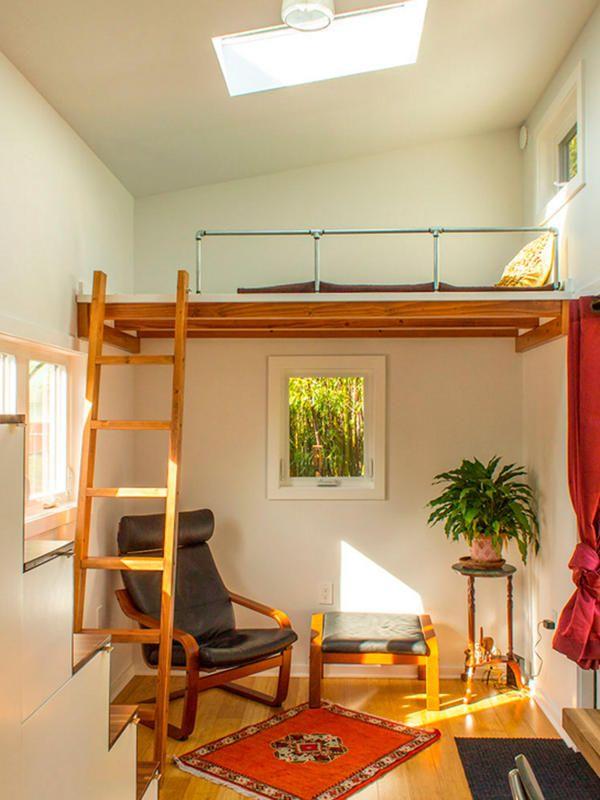 Antes y despu s un piso de 40m2 reformado artes plasticas pinterest altillo - Como hacer un altillo de madera ...