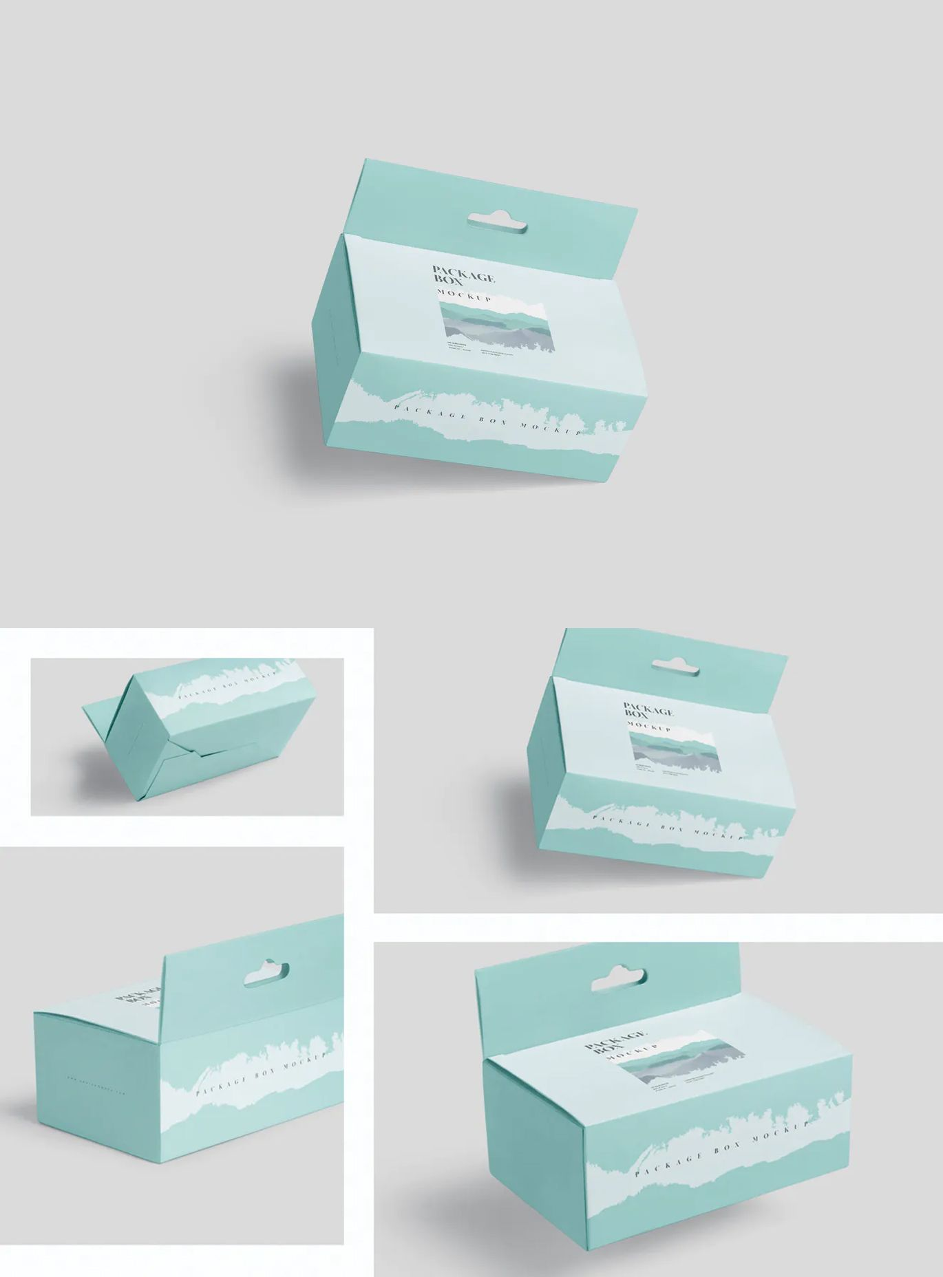 Download Package Box Mockup Long Rectangle With Hanger By Gfxfoundry On Envato Elements Box Mockup Box Packaging Packaging