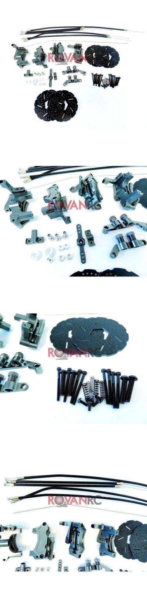 5SC BAJ128PURPLE Alloy Hydraulic Front Brake System for HPI Baja 5B 5T 5B2.0