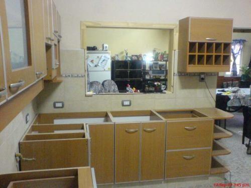 Juego muebles cocina melamina buscar con google for Muebles de melamina