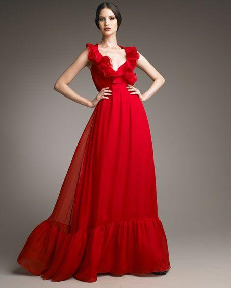 1fa565dd557ac vestido rojo valentino - Buscar con Google
