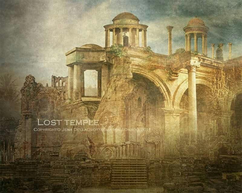 Lost  Temple   Copyright© Jena DellaGrottaglia