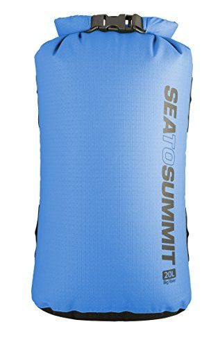 """Sea to Summit Big River Dry Bag,Orange,5-Liter. 3-Liter: 11"""" x 7"""" x 4""""; 5-Liter: 15"""" x 7"""" x 4""""; 8-Liter: 17"""" x 8"""" x 5""""; 13-Liter: 20"""" x 9"""" x 6""""; 20-Liter: 24"""" x 11"""" x 7""""; 35-Liter: 28"""" x 13"""" x 8""""; 65-Liter: 33"""" x 15"""" x 10"""". TPU laminated fabric with 10,000 mm waterhead. Super strong and abrasion resistant 420 D nylon fabric. Waterproof, double stitched, reinforced, tape sealed seams. Hypalon lash loops for secure attachment or stacking."""