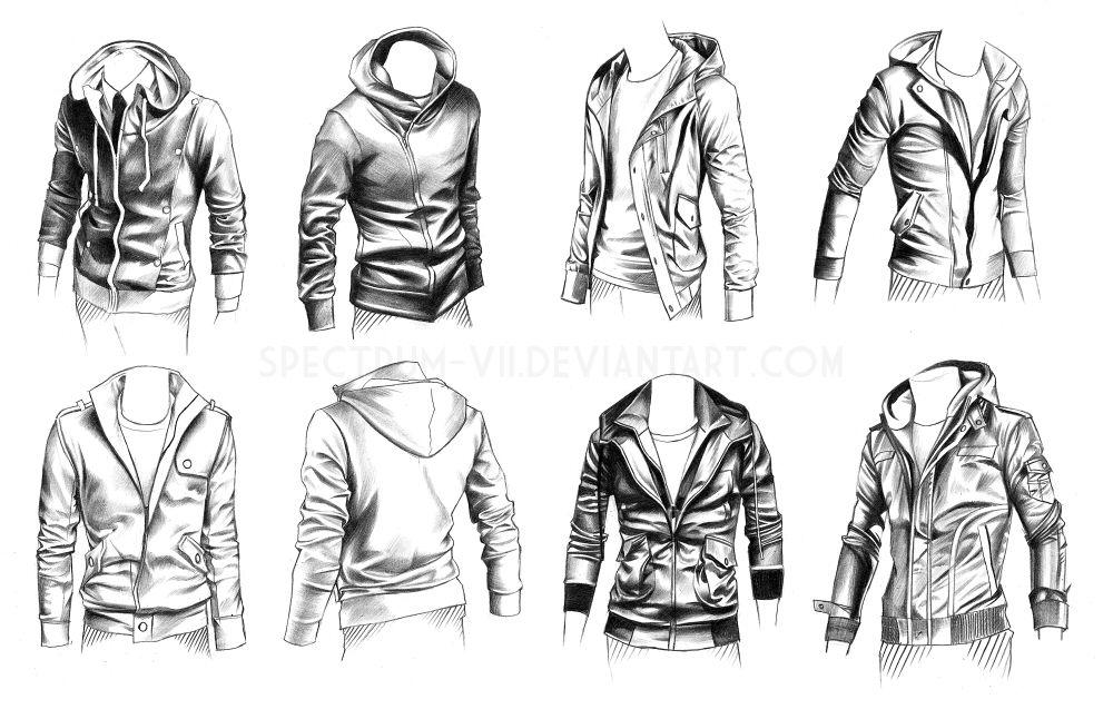 Jacken zeichnen