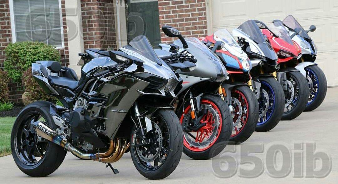 Kawasaki H2 Vs Ebr Vs Aprilia Rsv4 Rf Vs Yamaha R1m Vs Ducati 1199