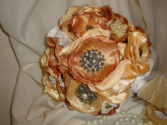 Custom Bouquets Bridal Bouquet weddings by touchofchicbridal, $99.95