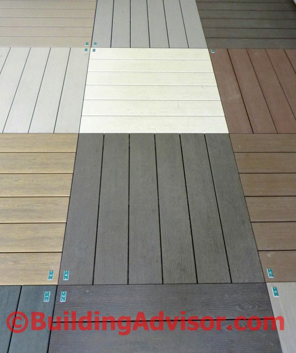 A vast array of composite and plastic decking options for Redwood vs composite decking