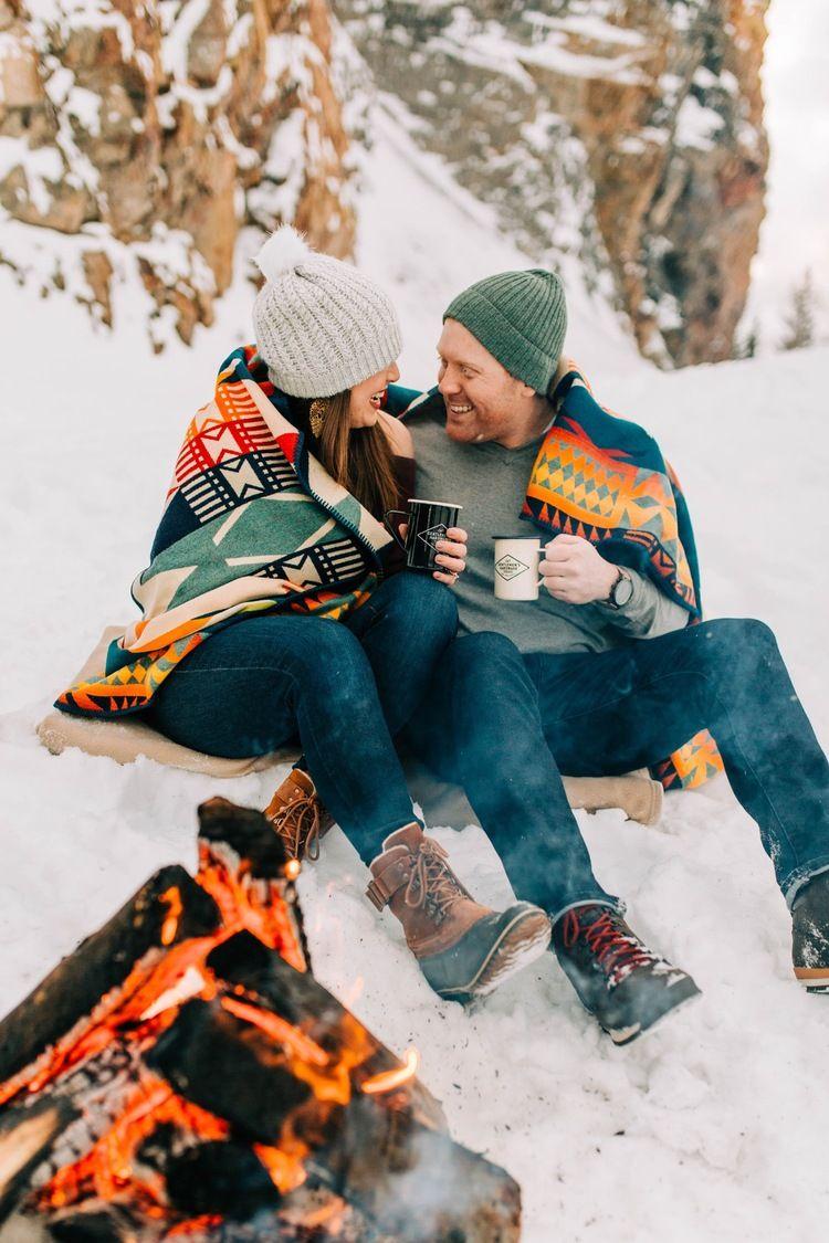 Breckenridge Winter Engagement Bilder | Kelsey Booth Photography Diese beiden …   – Engagement pictures