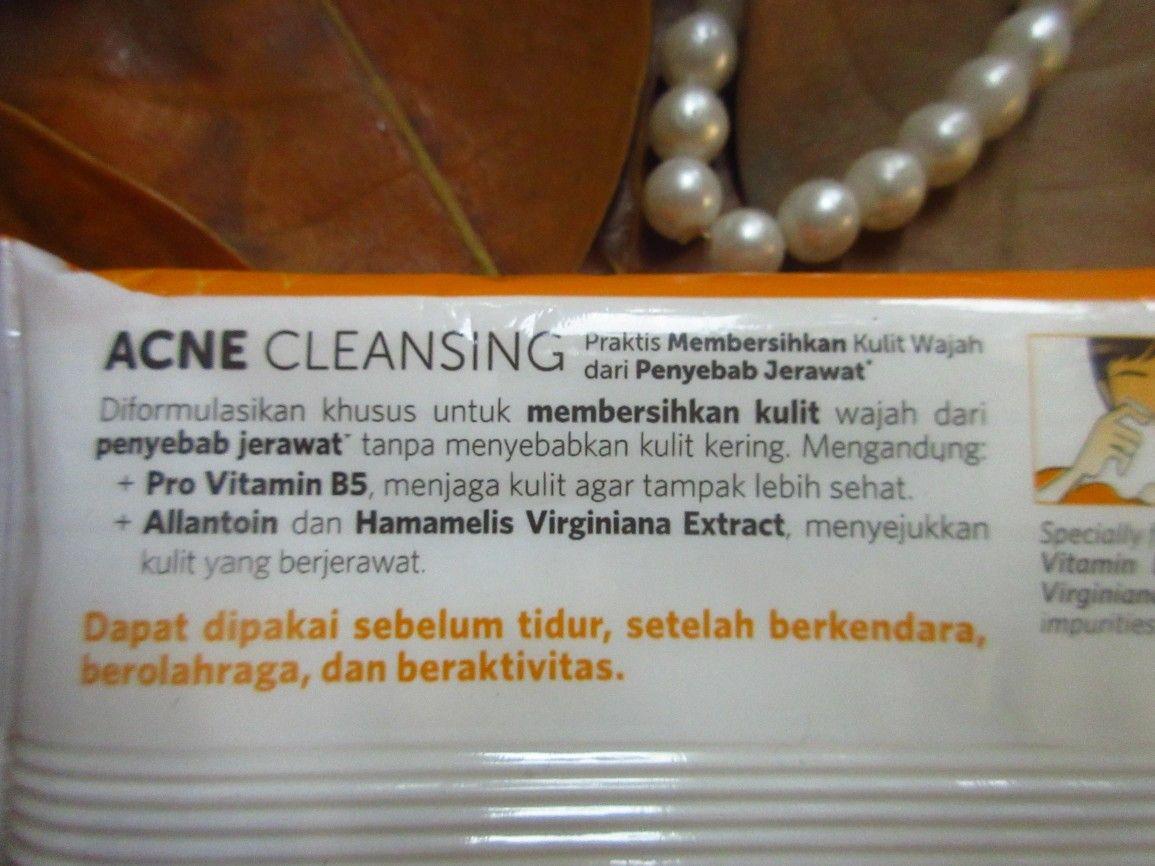 Face Cleanser Tissue untuk Kulit Berjerawat: JF SULFUR Wet ...