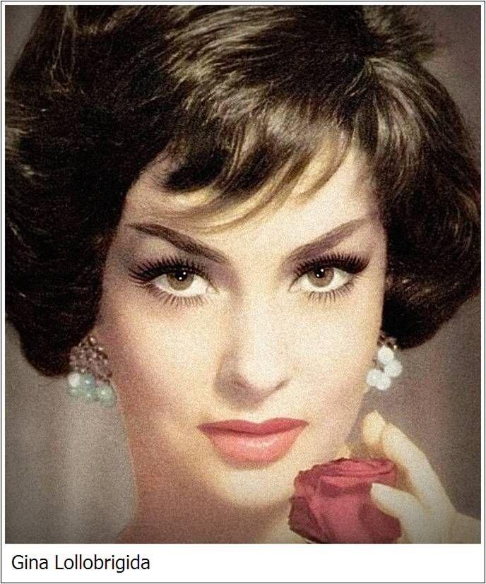 Gina Lollobrigida Subiaco, 4 luglio 1927 attrice, fotografa, scultrice, nonché disegnatrice e cantante italiana.